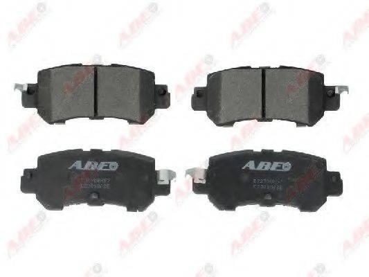 Комплект тормозных колодок, дисковый тормоз ABE C23018ABE