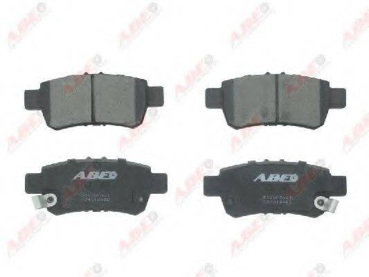Комплект тормозных колодок, дисковый тормоз ABE C24018ABE