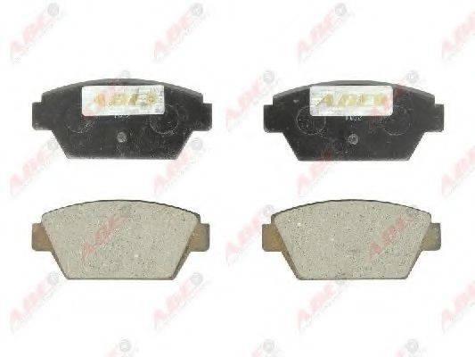 Комплект тормозных колодок, дисковый тормоз ABE C25000ABE