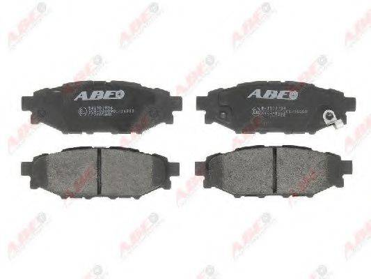 Комплект тормозных колодок, дисковый тормоз ABE C27005ABE