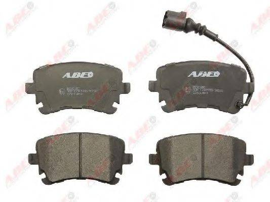 Комплект тормозных колодок, дисковый тормоз ABE C2A004ABE