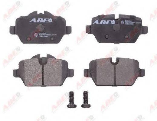 Комплект тормозных колодок, дисковый тормоз ABE C2B016ABE