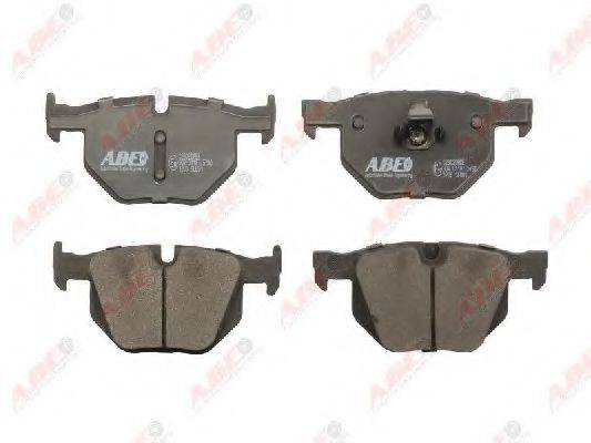 Комплект тормозных колодок, дисковый тормоз ABE C2B020ABE