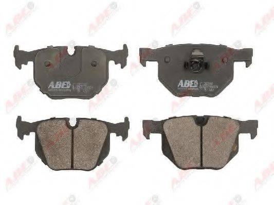 Комплект тормозных колодок, дисковый тормоз ABE C2B022ABE
