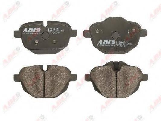 Комплект тормозных колодок, дисковый тормоз ABE C2B024ABE