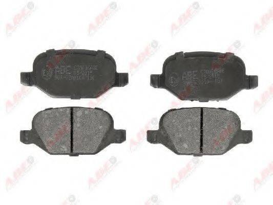 Комплект тормозных колодок, дисковый тормоз ABE C2D006ABE