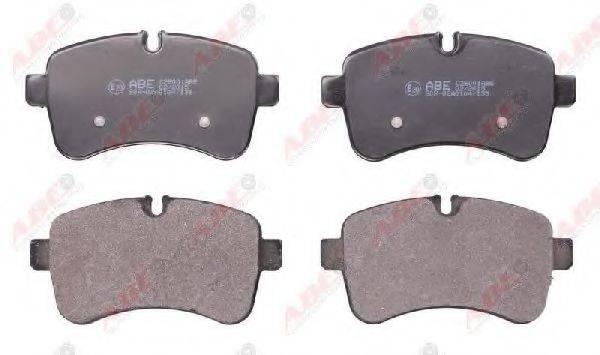 Комплект тормозных колодок, дисковый тормоз ABE C2E001ABE