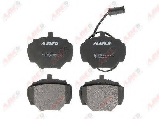 Комплект тормозных колодок, дисковый тормоз ABE C2I000ABE
