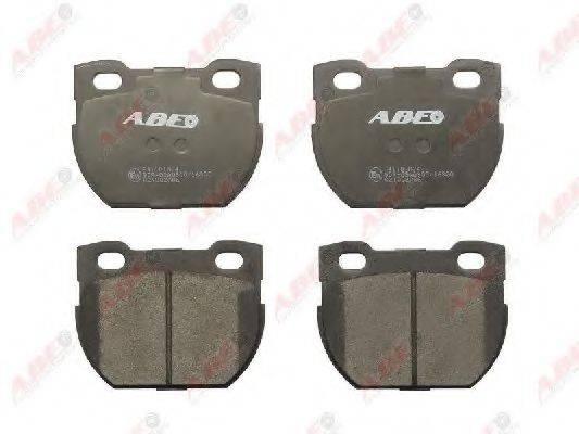Комплект тормозных колодок, дисковый тормоз ABE C2I002ABE