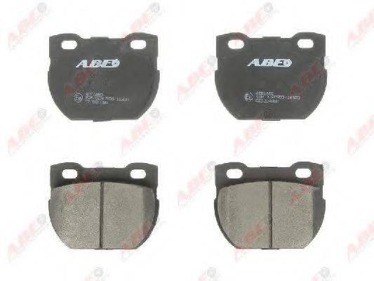 Комплект тормозных колодок, дисковый тормоз ABE C2I004ABE