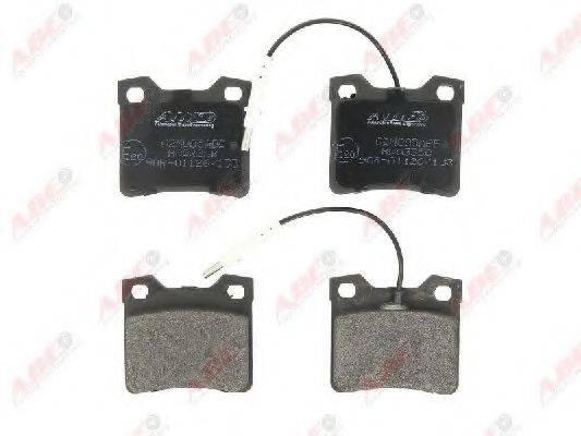 Комплект тормозных колодок, дисковый тормоз ABE C2M005ABE