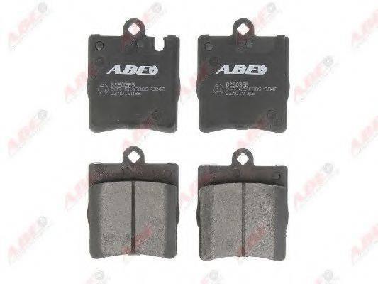 Комплект тормозных колодок, дисковый тормоз ABE C2M019ABE
