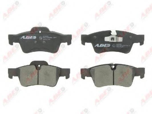 Комплект тормозных колодок, дисковый тормоз ABE C2M027ABE