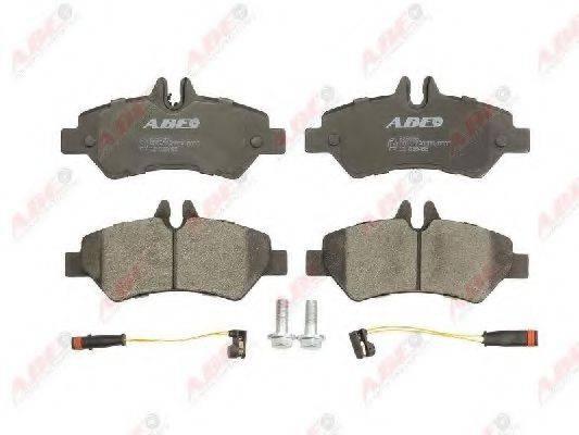 Комплект тормозных колодок, дисковый тормоз ABE C2M028ABE