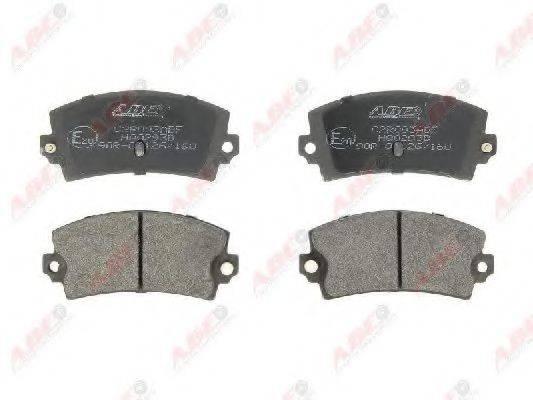 Комплект тормозных колодок, дисковый тормоз ABE C2R003ABE