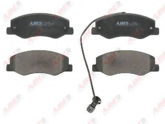 Комплект тормозных колодок, дисковый тормоз ABE C2R015ABE