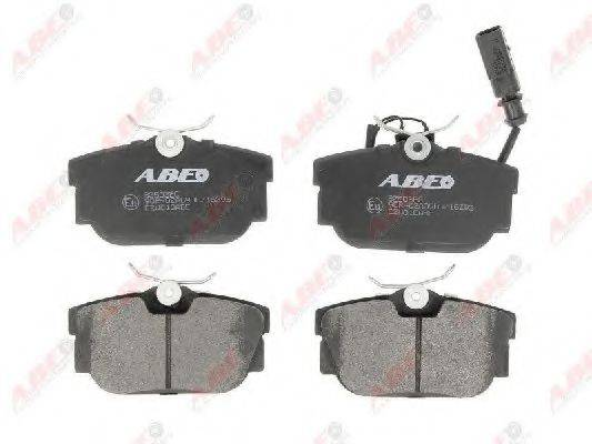 Комплект тормозных колодок, дисковый тормоз ABE C2W010ABE