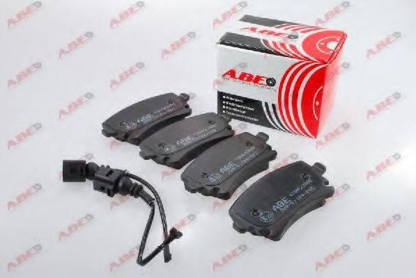 Комплект тормозных колодок, дисковый тормоз ABE C2W023ABE