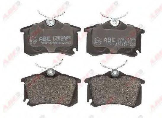 Комплект тормозных колодок, дисковый тормоз ABE C2W026ABE