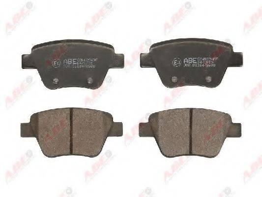 Комплект тормозных колодок, дисковый тормоз ABE C2W029ABE