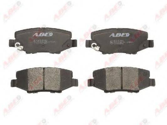 Комплект тормозных колодок, дисковый тормоз ABE C2Y013ABE