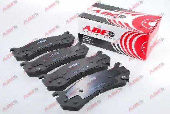 Комплект тормозных колодок, дисковый тормоз ABE C2Y016ABE