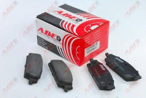 Комплект тормозных колодок, дисковый тормоз ABE C2Y019ABE