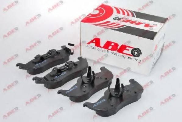 Комплект тормозных колодок, дисковый тормоз ABE C2Y021ABE