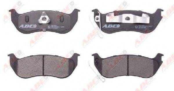 Комплект тормозных колодок, дисковый тормоз ABE C2Y022ABE