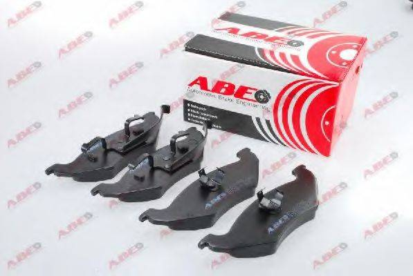 Комплект тормозных колодок, дисковый тормоз ABE C2Y023ABE