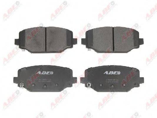 Комплект тормозных колодок, дисковый тормоз ABE C2Y027ABE