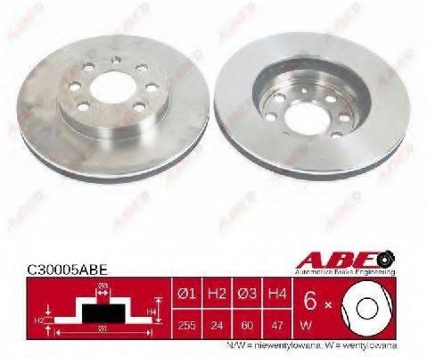 Тормозной диск ABE C30005ABE