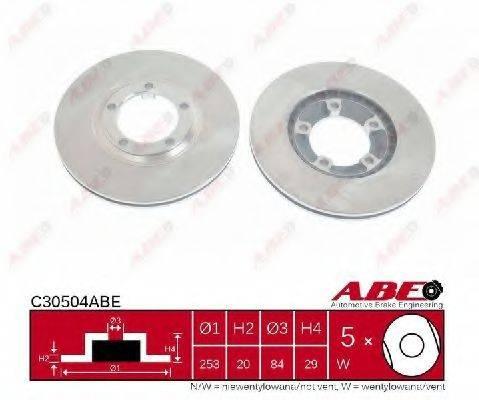 Тормозной диск ABE C30504ABE