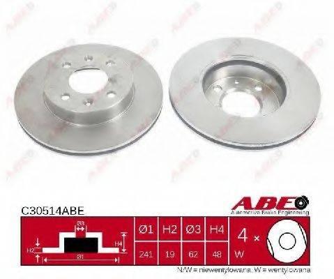 Тормозной диск ABE C30514ABE