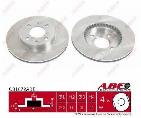 Тормозной диск ABE C31072ABE