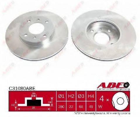 Тормозной диск ABE C31080ABE
