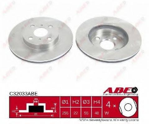 Тормозной диск ABE C32033ABE