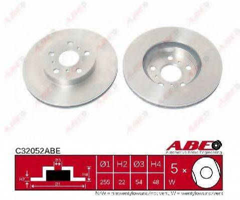 Тормозной диск ABE C32052ABE
