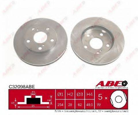 Тормозной диск ABE C32098ABE