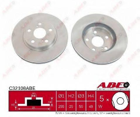 Тормозной диск ABE C32108ABE