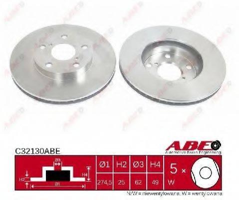 Тормозной диск ABE C32130ABE