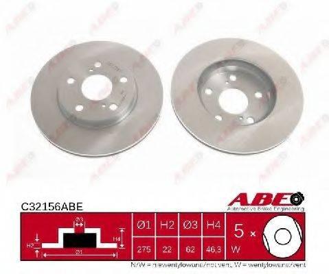 Тормозной диск ABE C32156ABE
