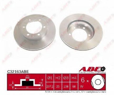 Тормозной диск ABE C32163ABE