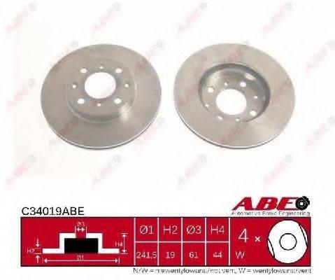 Тормозной диск ABE C34019ABE