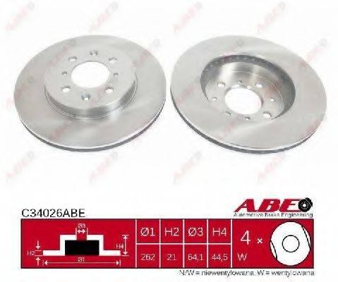 Тормозной диск ABE C34026ABE