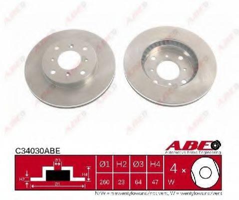 Тормозной диск ABE C34030ABE