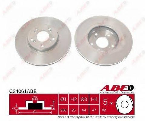 Тормозной диск ABE C34061ABE