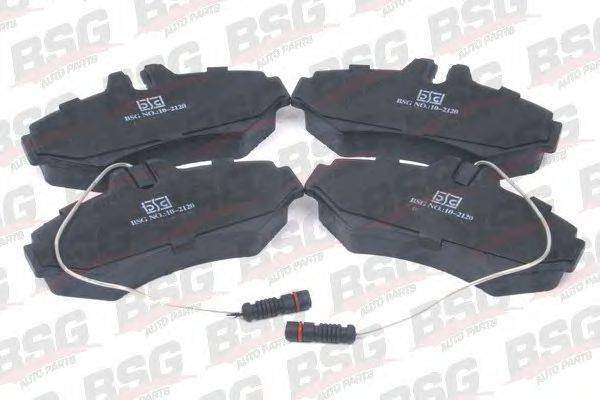 Комплект тормозных колодок, дисковый тормоз BSG BSG 60-200-006