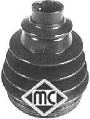 Пыльник, приводной вал METALCAUCHO 00499