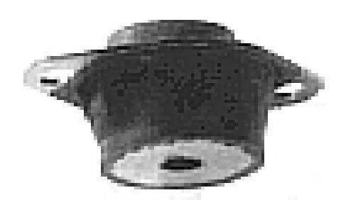 Подвеска, двигатель METALCAUCHO 00531